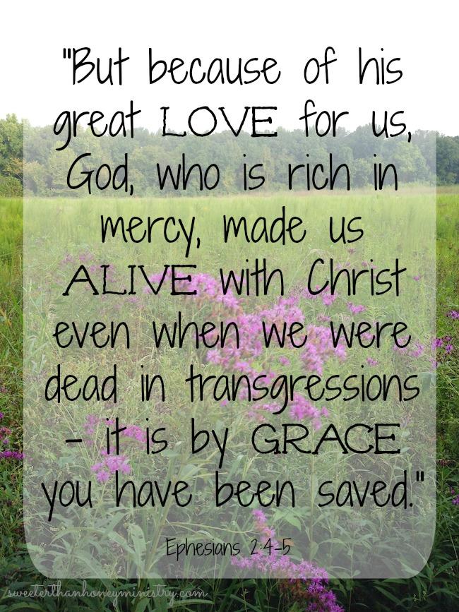 Ephesians 2.5